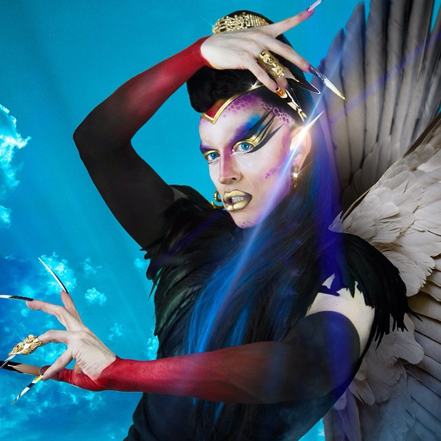 9 May 04 2015 My Mothers Birthday httpacidbettycomevery3secondsproject dragqueen draghellip
