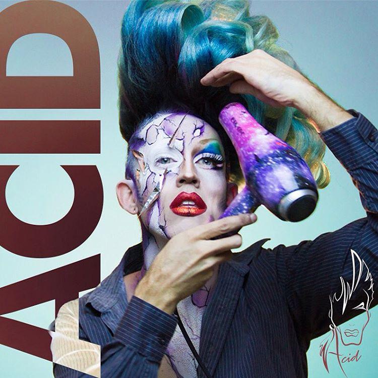 Towback Throwback!! BlowJobFace hausofacid acidbettyrocks dragqueen makeup