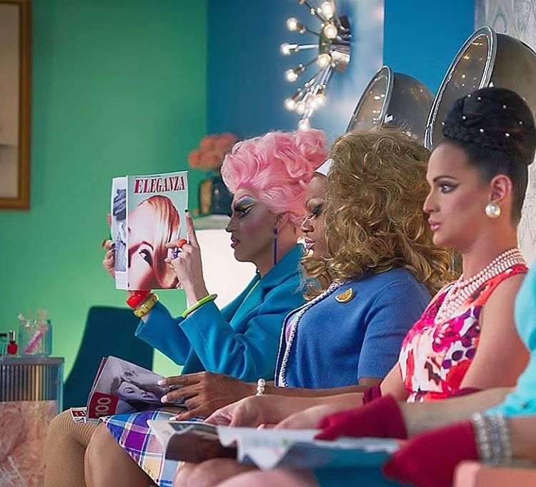 READING rupaulsdragrace with the incomparable cheechdevayne cynthialeefontaine and kimchichic shellip